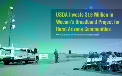 Wecom Awarded USDA ReConnect Grant